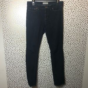 Madewell blue alley straight jeans size 29